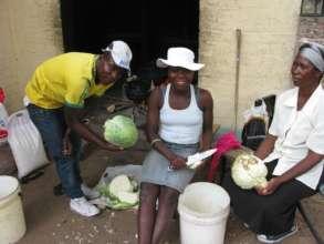 The hard working kitchen team!