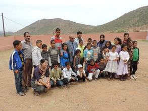 A group photo from 2014 water school