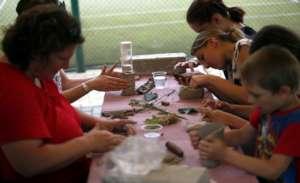 Creating  ceramics