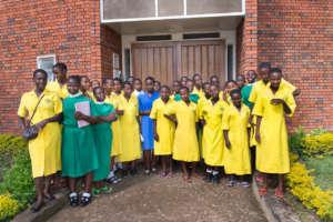 Girls in the Scholars program
