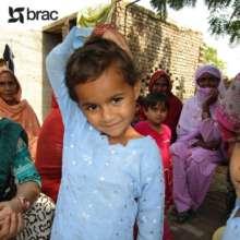Eman's sister attends a BRAC school in Pakistan.