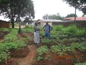 Onsite training with gardeners