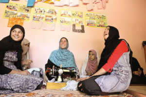 Adolescent reading centers provide support system