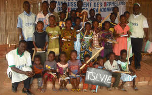 Some of the children who will benefit