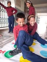 Children play at GoodWeave's rehabilitation center