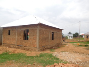 #1. A home in construction for a widow