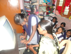 Charity in India providing computer skill training