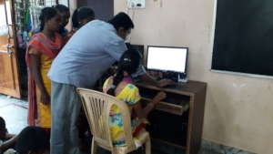 Children Charity in India Giving Online Training