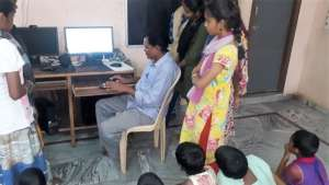 ComputerEducation for orphan street children india