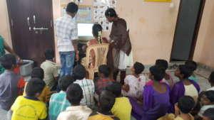 computer skills training to seruds orphanage child