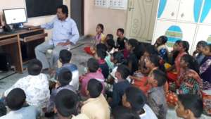 computer training for abandoned orphan children