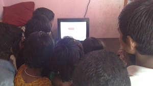 computer training to orphanage children