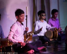 Our blind boys in Concert: Photo Steve Porte