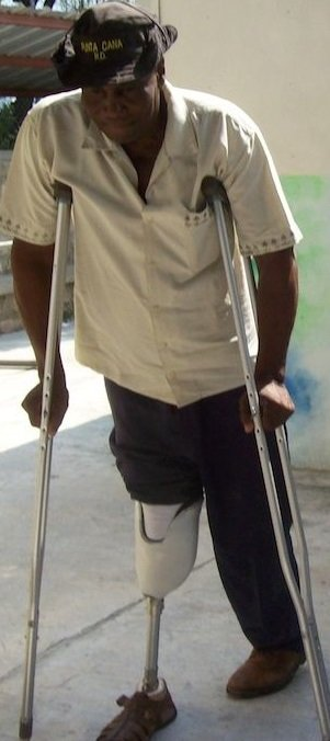 Give Mobility Devices for People in Haiti