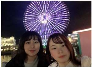 Confectionary student Maki from Fukushima