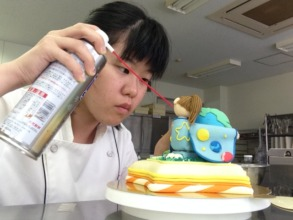 """Ikumi's """"The Universe"""" Cake Contest Entry"""