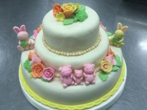 """Ayaka's """"Wedding"""" Cake Entry"""