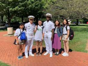 Students Visit US Naval Academy in Annapolis