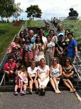 Ishinomaki Exchange Students with host famlies