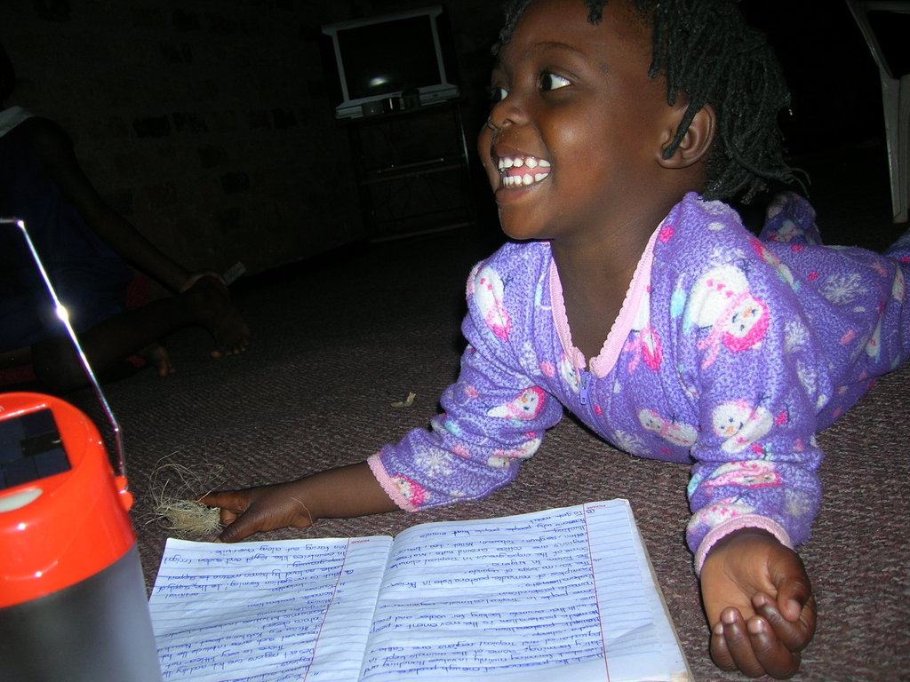 Buy Solar lamps for 100 rural children in Uganda