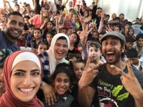 Community reliance building events offer joy