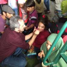 Play Therapy with children at our residential site