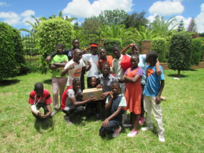 Children Living at CCC in Lilongwe