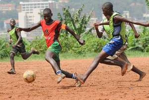 Retrak children get a chance to play