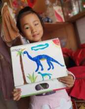 Yuhan and Her Artwork