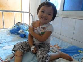 Xinting loves to smile even with thalassemia