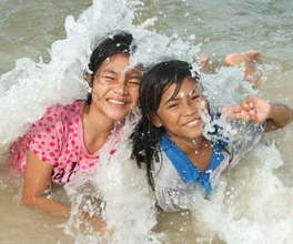 Creating moments of joy in lives of kids