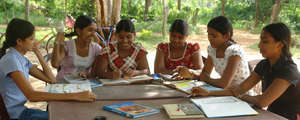 Teenagers at Horizon Lanka