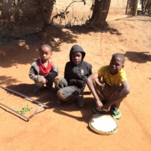 Children in Matero