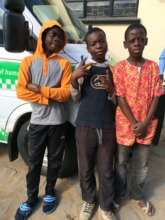 A few children after an educational session