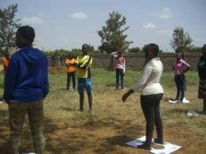 girls playing games..