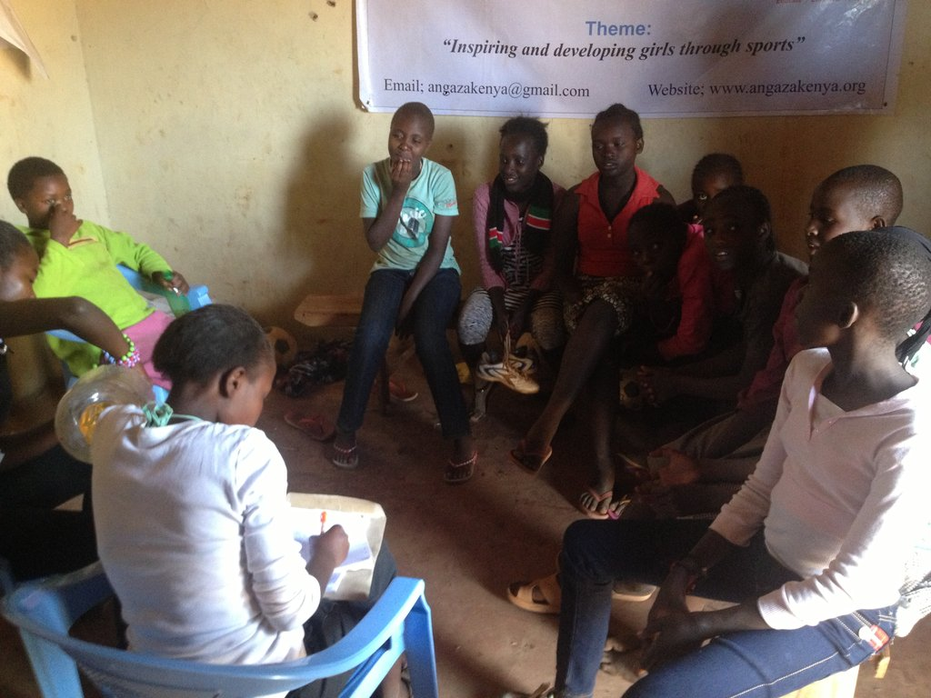 Invest in 45 vulnerable girls change kiandutu slum