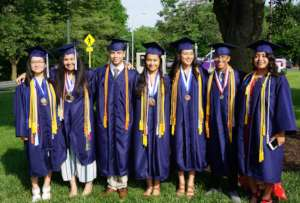 Graduation day for SLI seniors in Harrisonburg