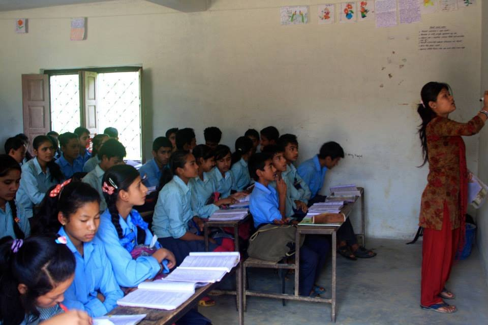 Post-Earthquake Child Education Program in Nepal