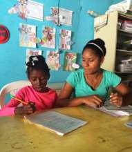 University Scholar Mayra tutors Ketrina, Class 4.