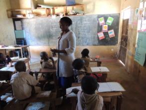 Teacher Engaging Student