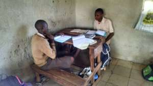 Students Partner Studying