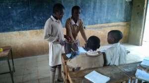 Students Peer Teaching