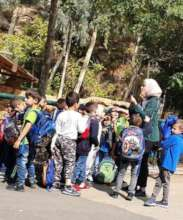 Group visiting the Zoo