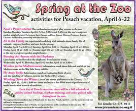 Spring at the Zoo