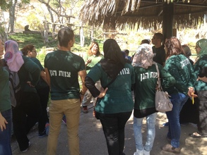 Practical training with zookeepers