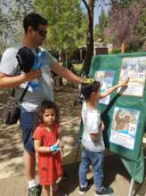Children learn more about animals