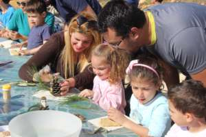 Educational family workshop on Arbor Day