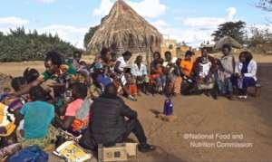1000 Days listening group near Petauke, Zambia