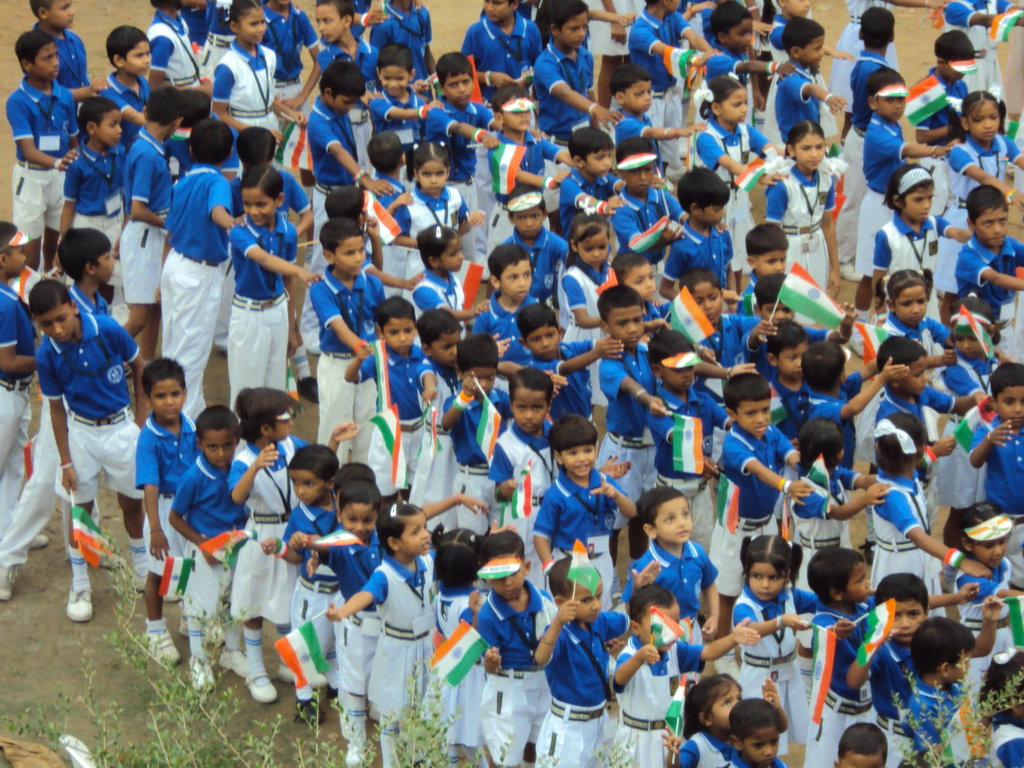 Basic Education for the children of slum-dwellers