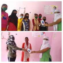 Distributing Smartphones to girls